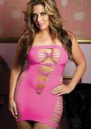Seductress Tube Dress - Pink - Q (disc)