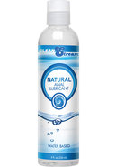 Clean Stream Natural Anal Lubricant Water Based 8 Ounce