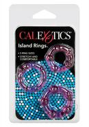 Siicone Island Rings Pink 3 Sizes