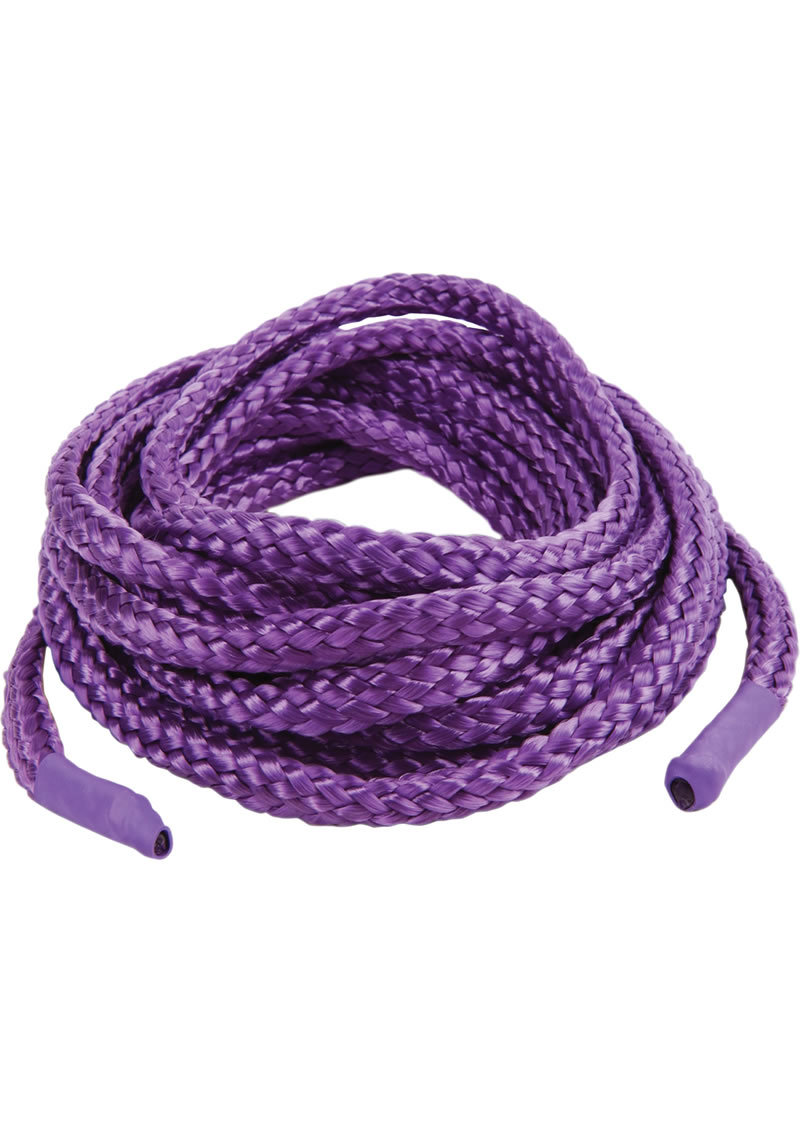 Japanese Silk Love Rope 16 Feet Purple