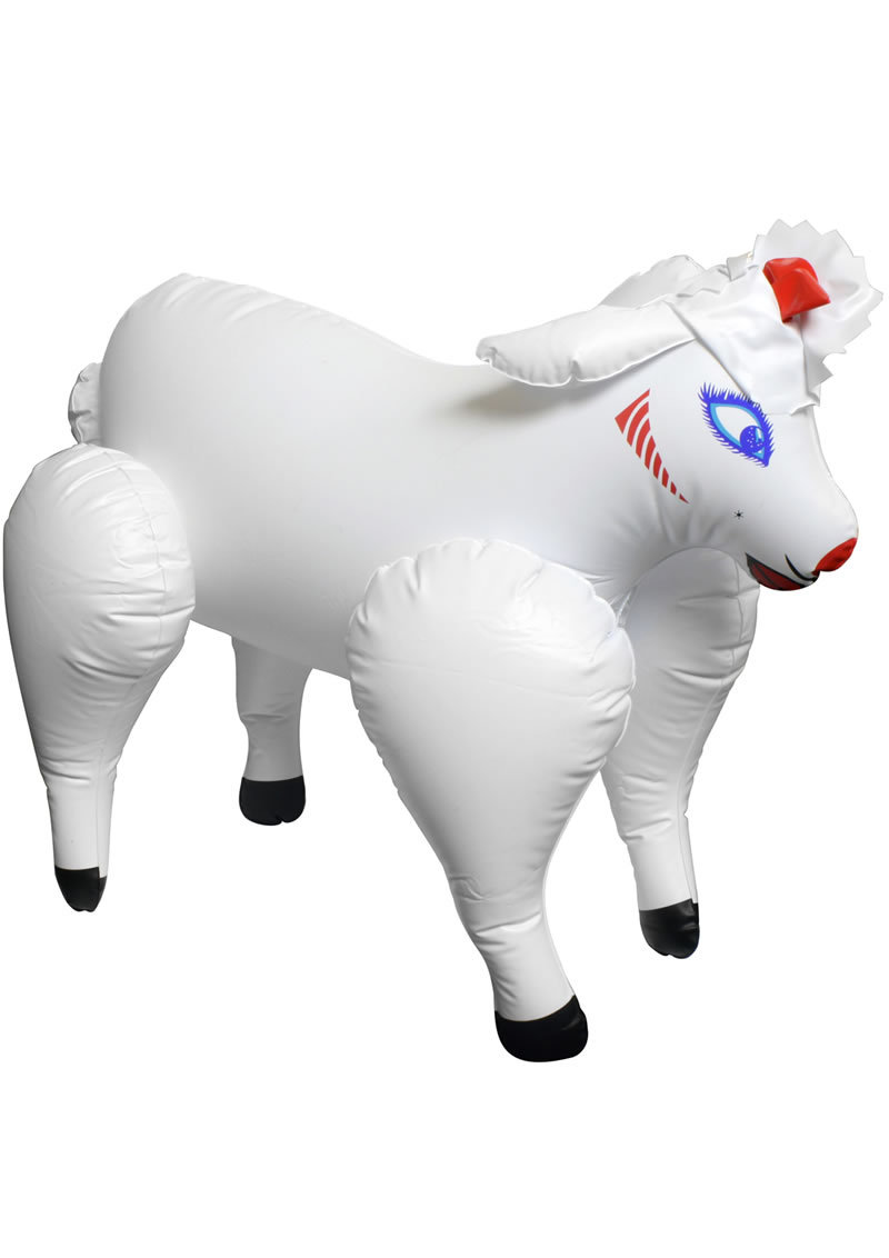 Lovin Lamb Inflatable Love Doll Travel Size